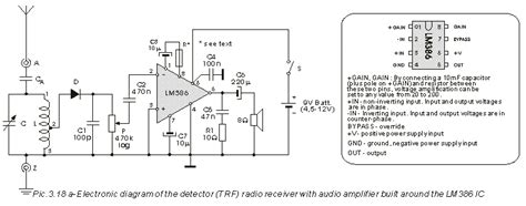 3 4 simple radio receiver with lm386 ic radio receivers from set to stereo