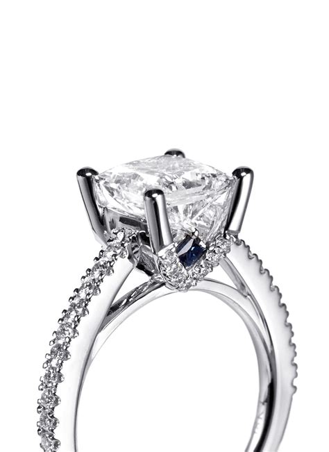 lyst vera wang love boutique diamond  white gold