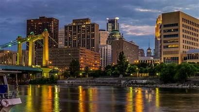 Minneapolis Wallpapers Desktop Wallpaperaccess Mississippi River Usa