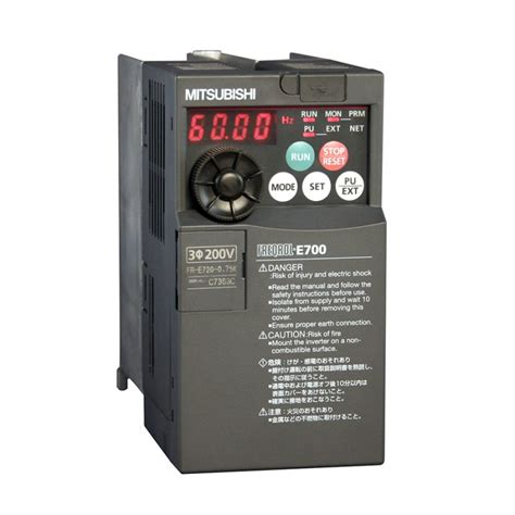 Mitsubishi Variable Frequency Drive by Fr E740 230sc Na Mitsubishi Inverter Vfd Variable