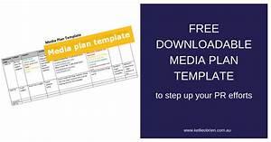 Free Downloadable Media Plan Template