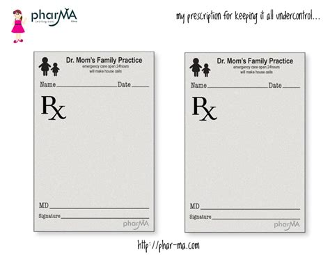 prescription pad template dr s prescription pad the pharma