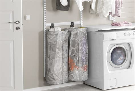 laundry room   tidy elfa inspiration