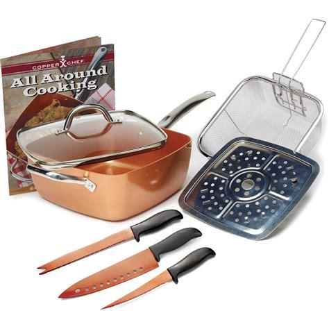 copper chef cookware set  piece walmartcom walmartcom