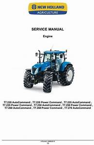 New Holland Tractor Engine Diagram