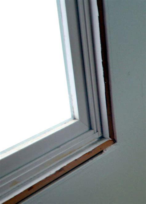 Moulding Window Sill by Installing Window Casing Hgtv