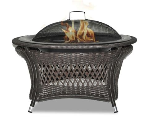 paramount 32 inch patented wicker gel fuel outdoor
