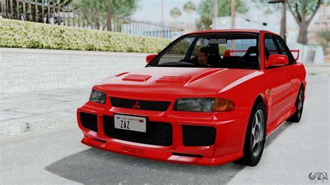 Mitsubishi Lancer Evolution 3 by Mitsubishi Lancer Evolution Iii 1996 Ce9a For Gta San