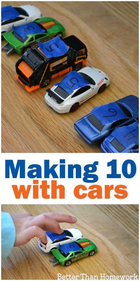 making ten  cars  images kindergarten learning
