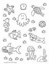 Aquarium Printables Coloring Printable Ocean Doll Valentines Travel Sheet Ellison Education Visiting Orcas Mini Play Felt sketch template