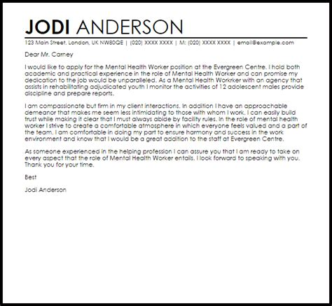 Psychiatric Cover Letter by Exle Of A Recommendation Letter Template Business