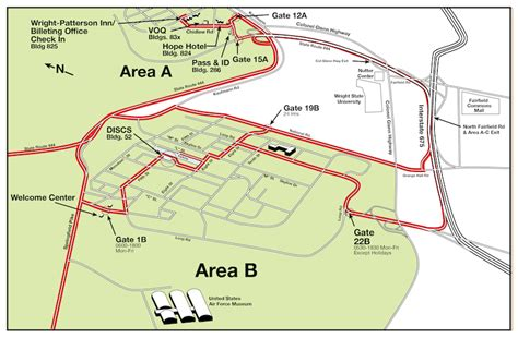 wpafb area b map my
