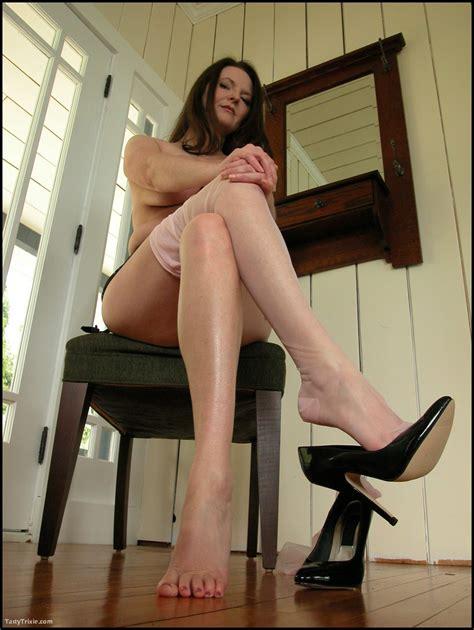 Milf Shoes 82394 Milf With Dangling Shoe Imgur