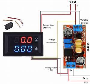 Power Supply - Digital Voltmeter Ammeter Wrong Reading