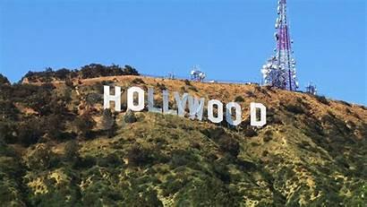 Hollywood Sign Wallpapers Wallpapersafari Zoom Sunset Wallpapercave