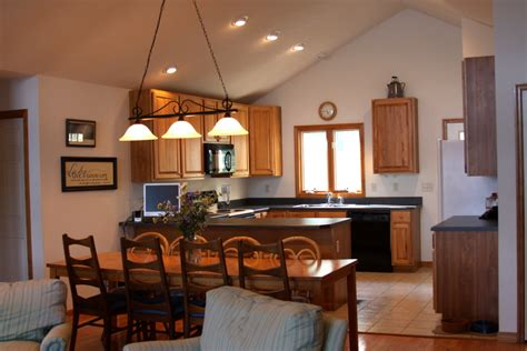 Light Up Your Home With Vaulted Ceiling Lightning Home