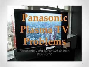 Panasonic plasma tv problems
