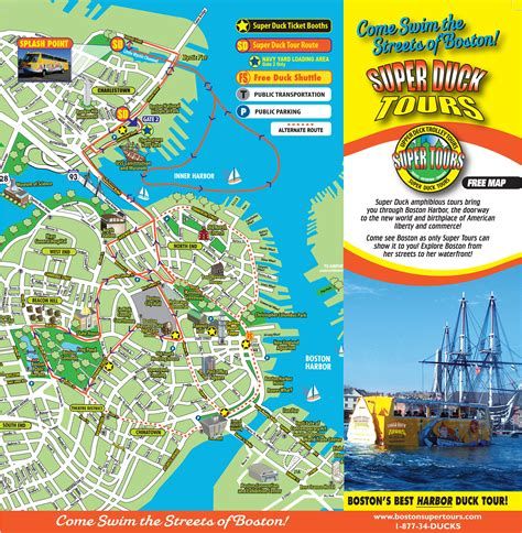 planning guide and route map boston tours