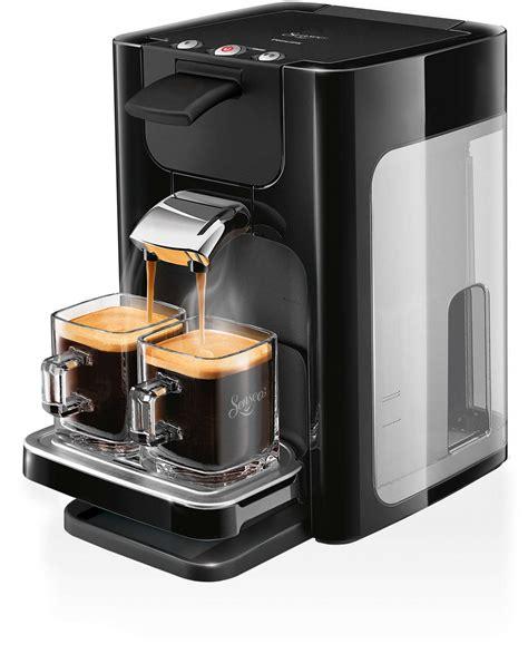 Promo Cafetiere Senseo Quadrante Kaffeepadmaschine Hd7863 60 Senseo 174