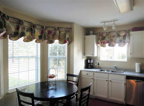 dining room bay window curtain ideas » Dining room decor