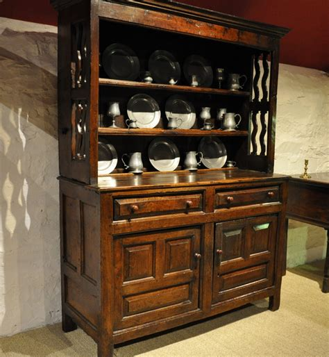 fine small late  century welsh oak dresser north wales circa    stock