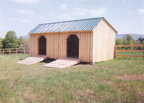 cattle run in shed stall kits prefab run in sheds jamaica cottage shop
