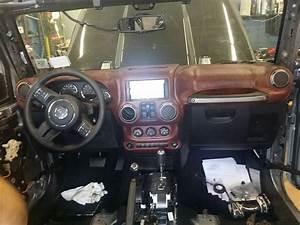 Custom Jeep Wrangler Interior Seats  Dashboard  Center Console