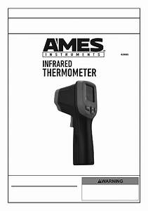 Ames Instruments 63985 Thermometer Owner U0026 39 S Manual  U0026 Safety