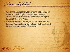 william shakespeare by faixan With shakespeare powerpoint template