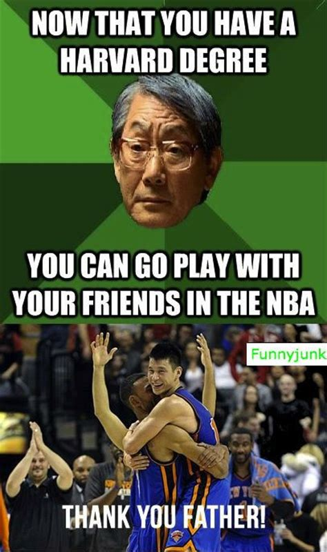Jeremy Lin Meme - oh jeremy lin humor pinterest high expectations funny and dads