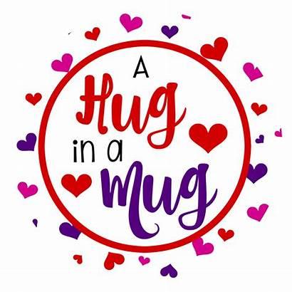 Valentines Valentine Mug Fun Hug Gift Tags