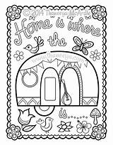 Coloring Camper Happy Campers Thaneeya Camping Printable Adult Drawing Trailers Sheets Mcardle Blank Template Colouring Theme Motorhome Printables Retro Quilted sketch template