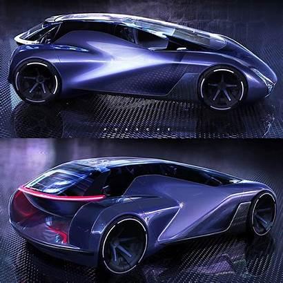 Porsche Taycan Futuristic Shows Autoevolution