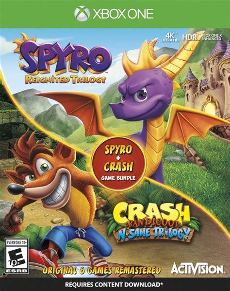 spyro reignited crash  sane game bundle outed