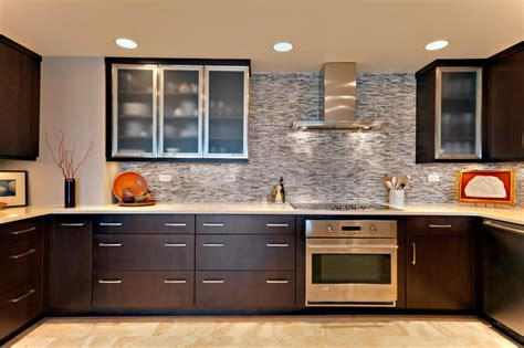 Condo Kitchen-contemporary-kitchen-other Metro-by