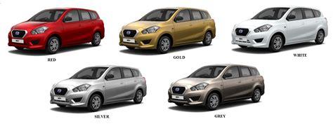 Datsun Go+ Colours