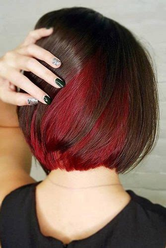 flirty burgundy hair ideas lovehairstylescom