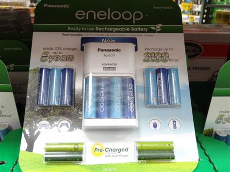 eneloop rechargeable batteries costco battery aa panasonic charger aaa included sets previous costcocouple comment