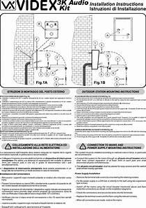3k13k2 Videx 3k Series Kit Manual