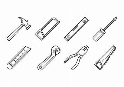 Carpenter Tools Vector Clipart Handyman Icon Graphics