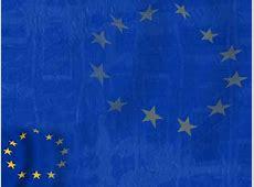 European Union Flag 02 PowerPoint Templates