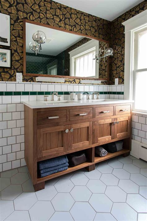 modern lumberjack full bath mcdonald remodeling