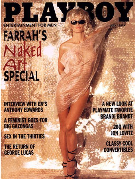 Todaysgold Farrah Fawcett Playboy Naked Art History Special