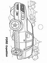 Ford Coloring Pages Printable Cars sketch template