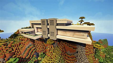 minecraft maison moderne avec xroach 1