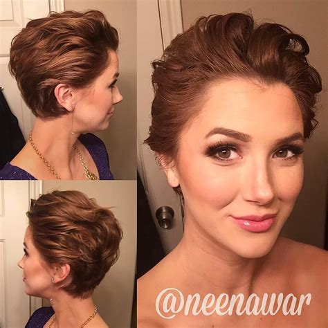 Fancy Pixie Hairstyle fancy pixie styling on neenawar who says you can t do