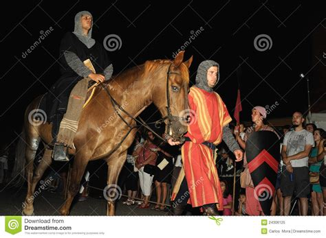 Medieval Festival Of Consuegra Spain Editorial Image