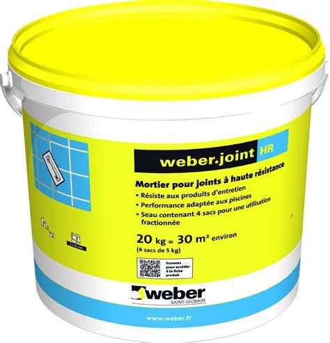 produit pour joint de carrelage mortier pour joints de carrelage weber joint hr