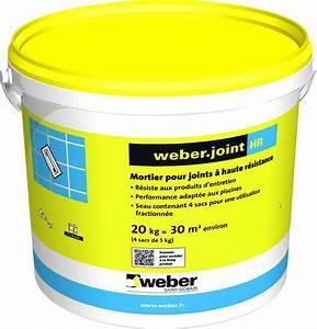 Joint Pour Carrelage : mortier pour joints de carrelage weber joint hr ~ Melissatoandfro.com Idées de Décoration
