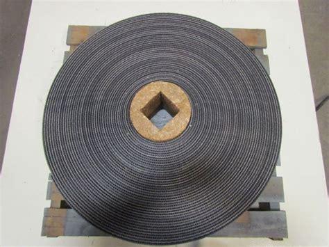 black pvc rubber rough top incline conveyor belt bare